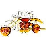 Motorcycle Whiskey Decanter Elegant Motorbike 750ml The Wine Savant - Whiskey, Wine Scotch or Liquor Decanter