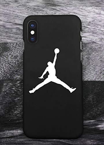 Toxdi Air Man Logo iPhone X/XS Funda, Carcasa Silicona Protector Anti-Choque Ultra-Delgado Anti-arañazos Case Caso para Teléfono iPhone X/XS (Negro)