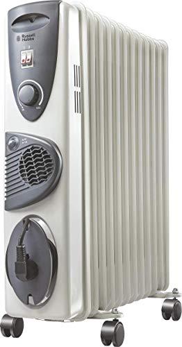 Russell Hobbs ROR 09F 9-Fin PTC 2400-Watt Oil Filled Radiator Room Heater