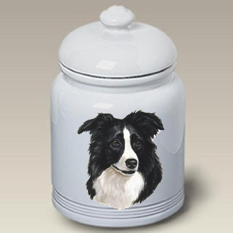 Border Collie Ceramic Treat 10 High 45030 Jar nnzlyg4606-New pet