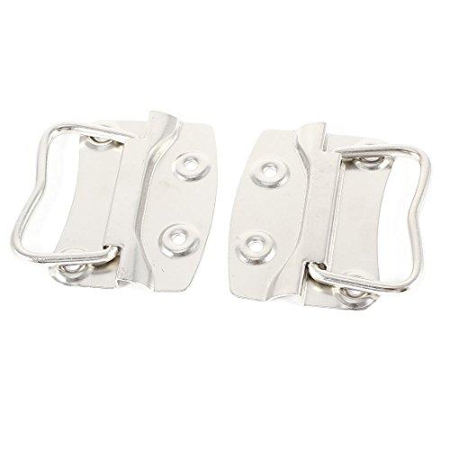 Zilverkleurige schroef gemonteerd deur dressoir pull greep 4,5 cm hoog 2