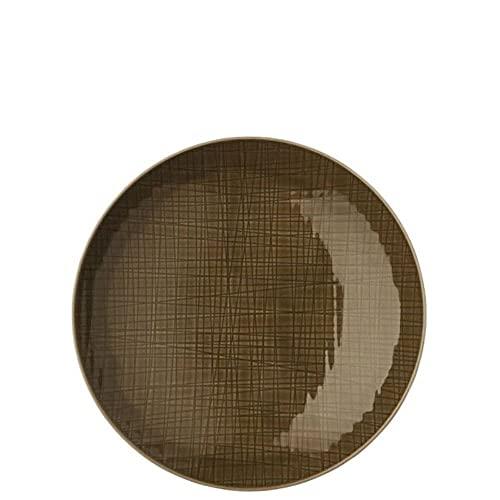 Rosenthal Set 6 Mesh Colours Plato Hondo Pasta diám. 25 cm Nuez