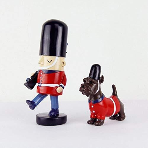 2 stks/set notenkraker marionet woondecoratie creatieve desktop decoratie hout gemaakt kerst ornamenten tekening walnoten soldaten, een