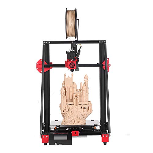 Creativity CY300 FDM 3D Printer Upgraded Dual Z Axis, Silent Mainboard Resume Printing 300x300x400mm for Creative Artist, DIY Makers & School Use