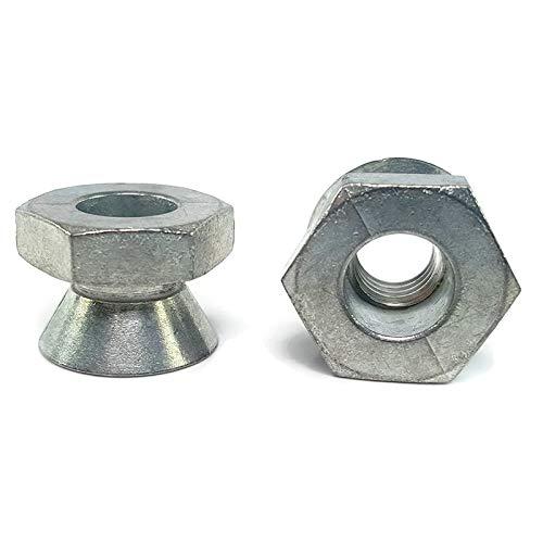 Break Away Nuts Tamper Proof Security Shear Nuts Zamak 5 Zinc 3/8