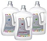 Hepp GmbH & Co KG – Hygiene- und Duftspüler – Set: Weiße Lilie – Kristall – Blütentraum 3000 ml (3 x 1000 ml Flasche)