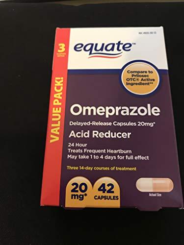 Equate - Omeprazole Magnesium 20.6 mg, Acid Reducer, Delayed Release,...