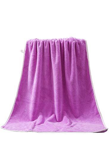 FOBEXISS Toallas de baño de secado rápido, muy absorbentes, de alta calidad, color sólido, toalla de baño de 28 x 55 pulgadas