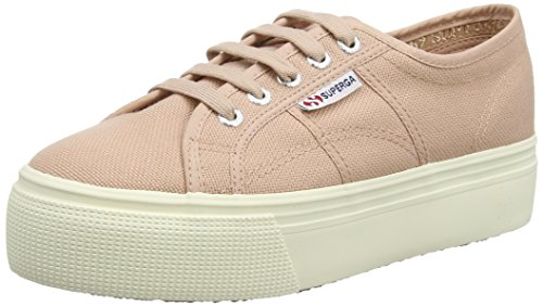 Superga Damen 2790acotw Linea Up and Down Sneaker, Pink (Rose Mahogany), EU