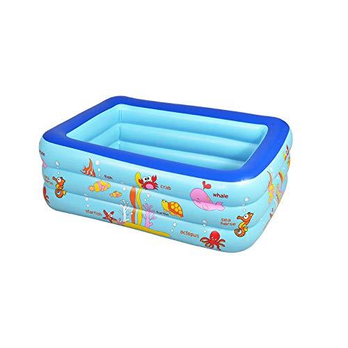 DAYUAN Piscina Hinchable para niños y Adultos,Piscina Hinchable-Azul,Bañera Piscina de para Adultos