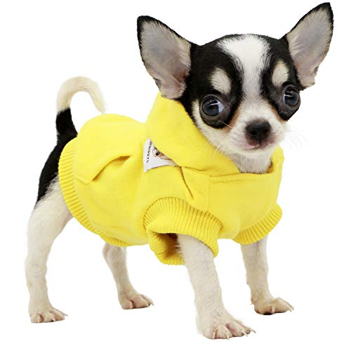 LOPHIPETS Dog Cotton Hoodies Sweatshirts for Small Dogs Chihuahua...