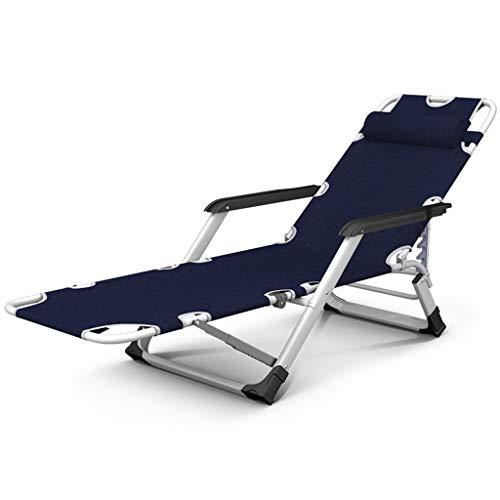 Lit de bronzage inclinable Chaise de relaxation Zero Gravity Garden Chaise longue pliante Lit bébé réglable Camping Bronzer Plage (Couleur : Chair a(oxford cloth)+cushion)