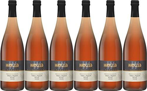 Weinkellerei Wangler Abstatter Schozachtal Trollinger Rosé 1L 2019 Trocken (6 x 1.0 l)