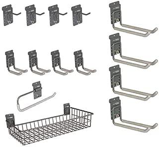 storeWALL 14 Piece Organizer Kit with CamLoks for Slatwall Panels