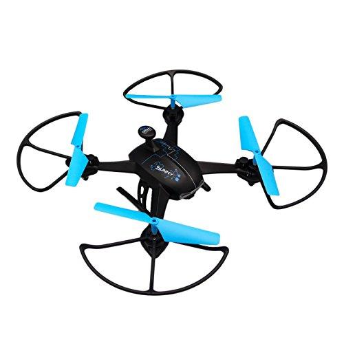 Dromocopter- Sunny Drone, Colore Nero, DC0218