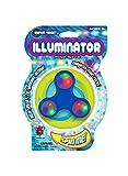 Illuminator High Speed LED Light Up Fidget Spinner Spinning Toy - 18 Pack