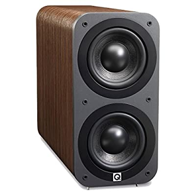 Q Acoustics 3070s Active Subwoofer (American Walnut) by Q Acoustics