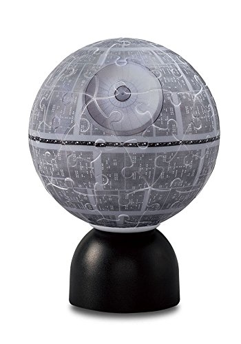 Yanoman Star Wars Pazurantan Jigsaw Puzzle Puz-Lantern Death Star 60pcs 3D Glow Sphere Led Light Up