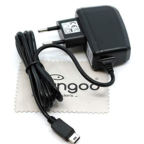 Ladegerät passend für Nintendo DS Lite Ladekabel Kabel Netzladegerät OTB mit mungoo Displayputztuch