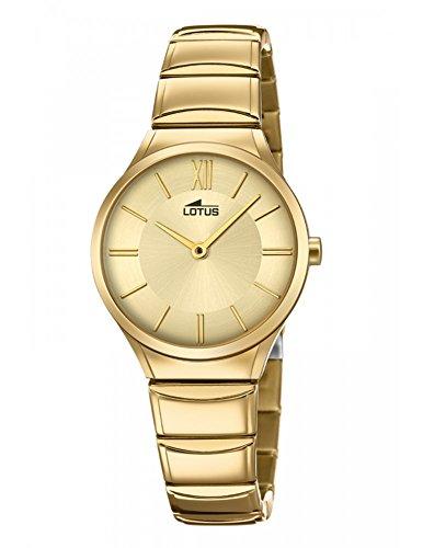 Reloj Lotus Mujer 18489/2 Acero Dorado