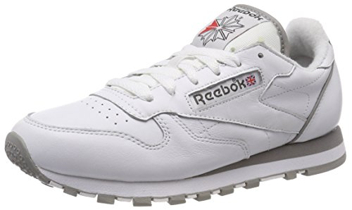 Reebok Classic Leather Archive, Zapatillas de Running Hombre, Blanco (Whitecarbonredgrey 0), 40 EU