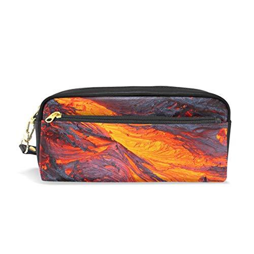 Lava Magma Federmäppchen, Federmäppchen, Reißverschluss, für Jungen, Mädchen, Teenager, Frauen, Schule, Schreibzubehör