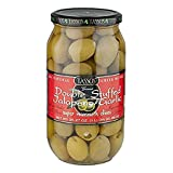 2 Pack Of Tassos All Natural Double Stuffed Jalapeno And Garlic Super Mammoth Olives (2X35...