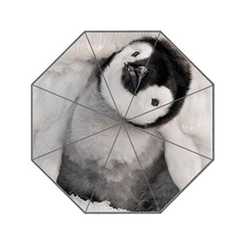Eureya Pinguin tragbar Reise Business Regenschirm faltbar Winddicht Sonne Regen Umbrella-Perfect Geschenk