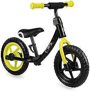 MOMI ROSS balanscykel för flickor och pojkar | Punkteringsäkra skumhjul | Stabil metallram | Justerbar sadelhöjd och styrh...