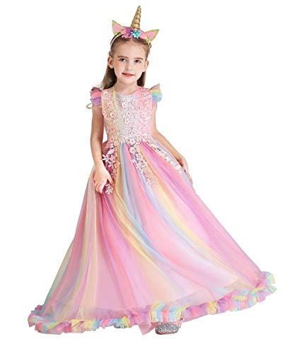 FMYFWY Costume Carnevale Unicorno Principessa...
