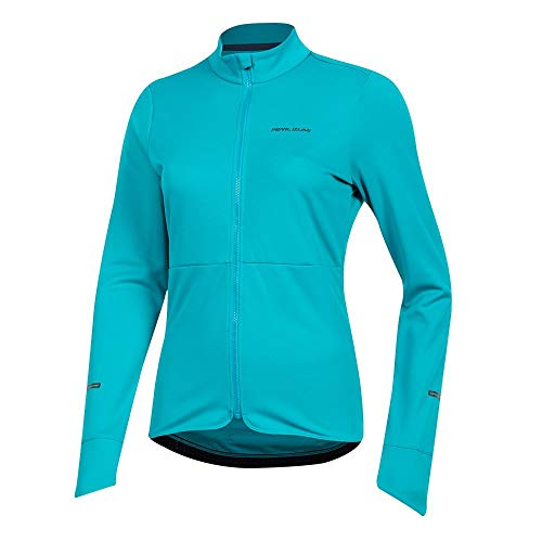 PEARL IZUMI Women's Quest Thermal Cycling Jersey, Breeze, X-Small