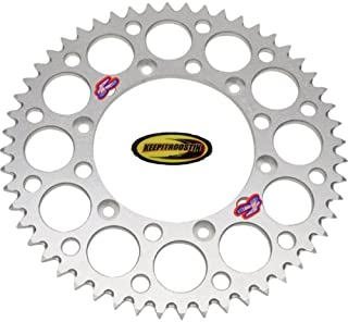 Renthal Rear Wheel Sprocket Silver 49T with Keepitroostin Sticker Fits Honda Cr80 Cr85 1996-2007