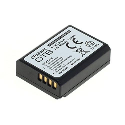 OTB Akku für LP-E10 / Canon EOS 1100D / 1200D 950mAH / Li-Ion mit Infochip