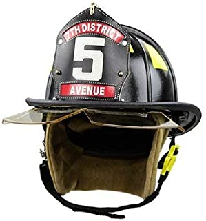 cairns leather fire helmets