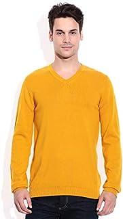 "ZAKOD Full Sleeve Regular Fit Sweater for Men,100% Wool Sweater,Regular Wear Sweater, M=38"",L=40"",XL=42"""