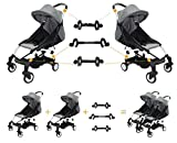 Twin Stroller Connector for Baby Fits Umbrella Strollers Babyzen YOYO Yoya Etc. Turns Two ...