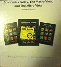 Economics Today the Macro View and the Micro View Sixteenth Edition Instructor Edition
