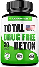 CANNAFIELD Detox and Liver Cleanse - USA Made - 5-Days Detox - Natural Toxins Remove – Best Detox Pills - Potent Liver & Urinary Tract Cleanse Supplement for Toxin Removal - 30 Capsules