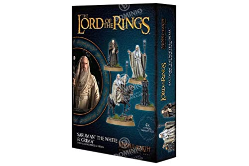 Middle Earth Games Workshop Strategy Battle Game: Saruman The White & Grima