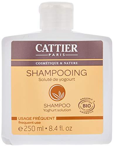 Cattier Shampooing, Soluté de Yogourt, Usage quotidien, BIO, 250 ml