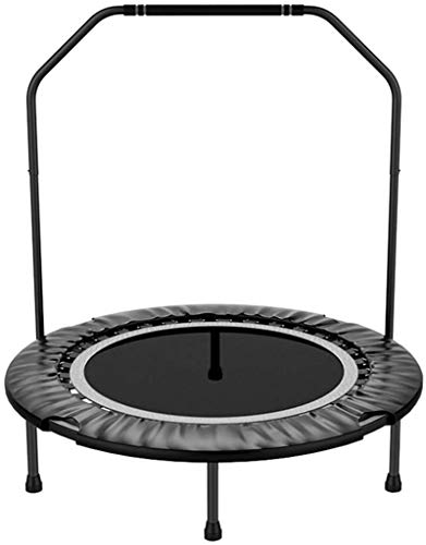 ZHENG Exercise Trampoline Indoor Trampoline 40 Inch Fitness Trampoline Indoor Trampoline Exercise Rebounder With Stability Bar Professional Gym & Studio Rebounder Trampoline For Kids Adults