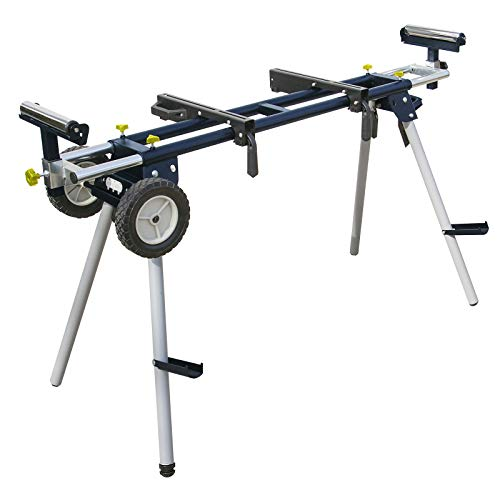 POWERTEC - MT4000 Deluxe Portable Miter Saw Stand with Wheels