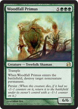 Magic The Gathering - Woodfall Primus - Modern Masters - Foil