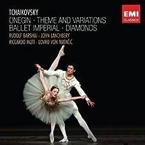 チャイコフスキーの音楽によるバレエ~オネーギン、主題と変奏、バレエ・インペリアル、他 ランチベリー、マタチッチ、ムーティ、バルシャイ、他(2CD)