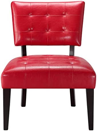 Best Ball & Cast Accent Chair, Red