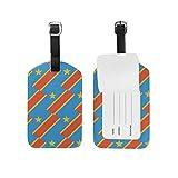 Kongo Kinshasa Flagge, Gepäckanhänger für Gepäck, Koffer