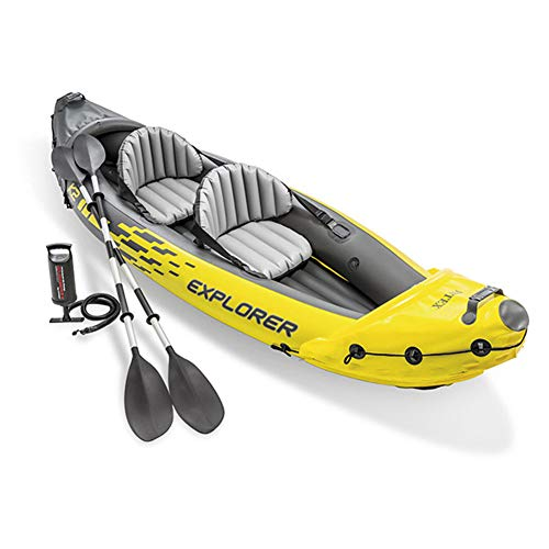Canoa Reef Gonfiabile - Sit on Top Kayak, Canadese, Diverse Versioni per 1 & 2 Persone