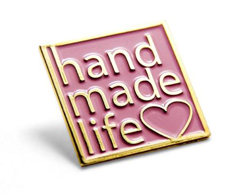 Handmade Life enamel pin