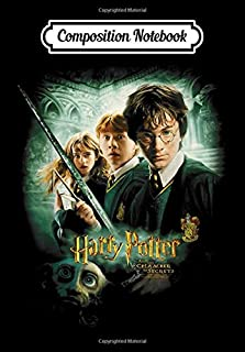 Composition Notebook: Harry Potter Chamber of Secrets Poster, Journal 6 x 9, 100 Page Blank Lined Paperback Journal/Notebook