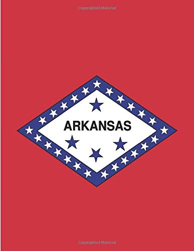 I Love Arkansas: Notebook | Arkansas State Gift | Arkansas Journal Diary Notepads For Students | USA States Notebook Gift | US State of Arkansas Flag ... | School Spirit Hot Springs  - A4 -120 Pages